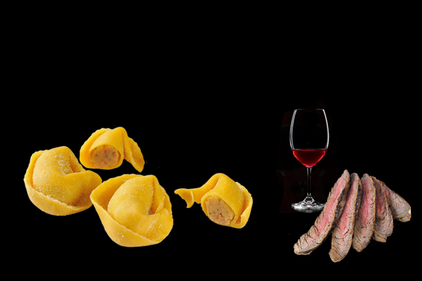 tortelini-vino